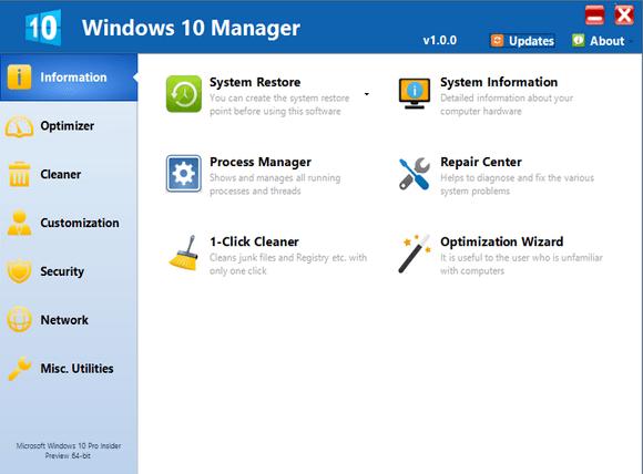 تحميل Windows 10 Manager
