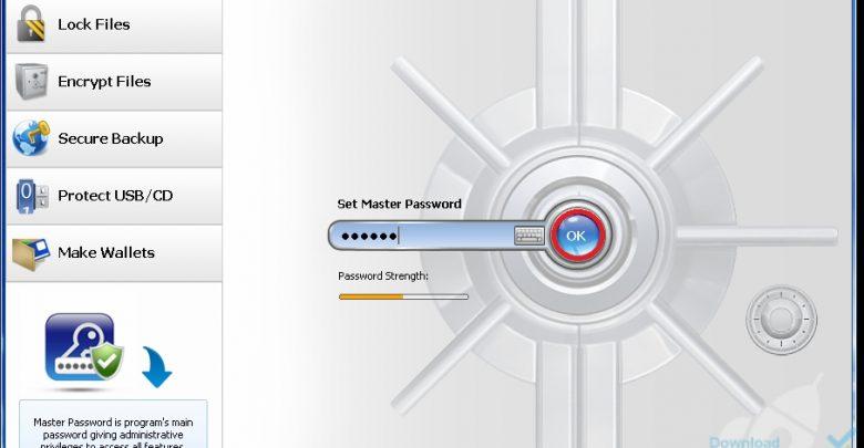 برنامج قفل الملفات أحدث إصدار