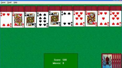 تحميل لعبة سوليتير solitaire spider