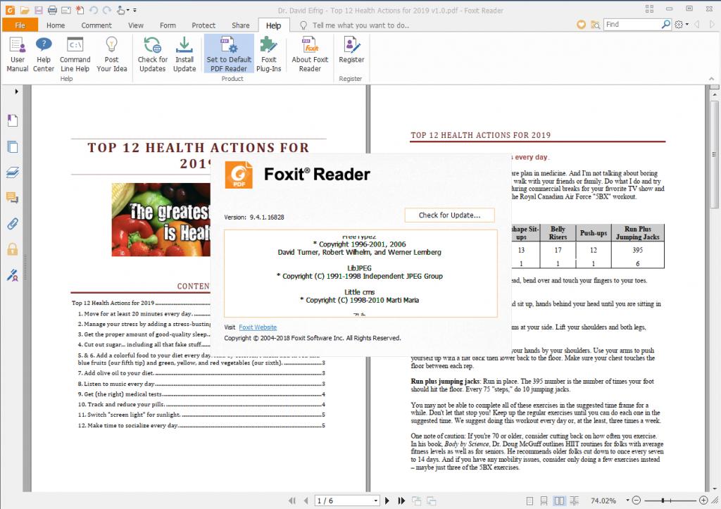 تحميل برنامج foxit reader أحدث إصدار