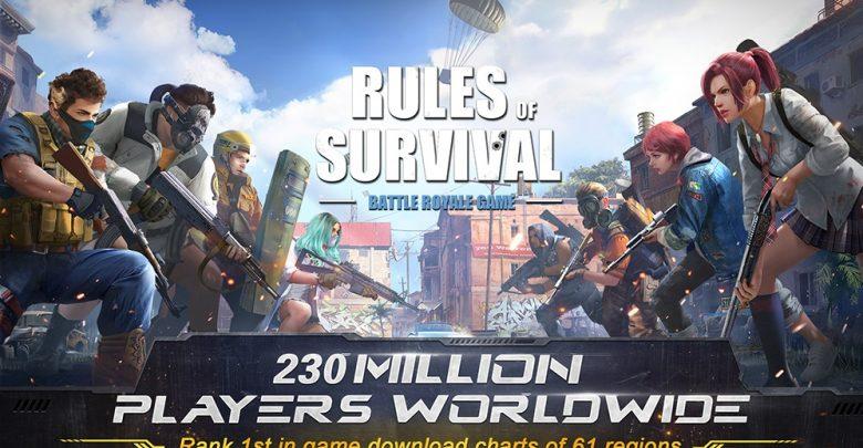 تحميل لعبة rules of survival برابط مباشر
