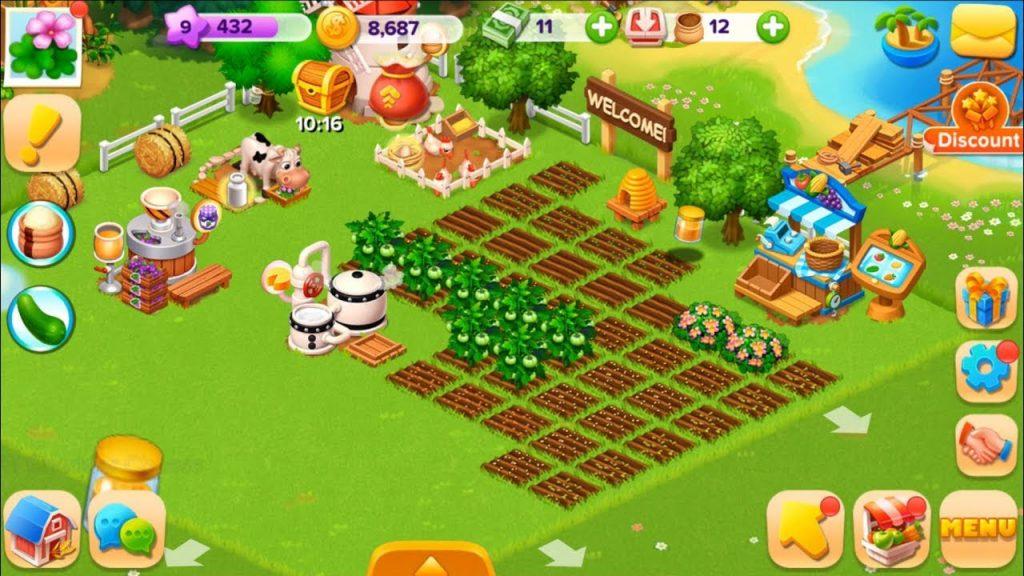 شرح لعبة family farm