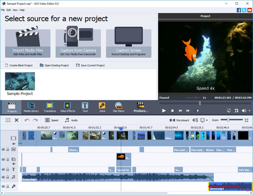 شرح برنامج دمج الفيديوهات Video Edit Master